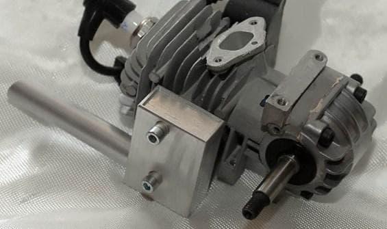 Мощнейший двигатель бензопилы