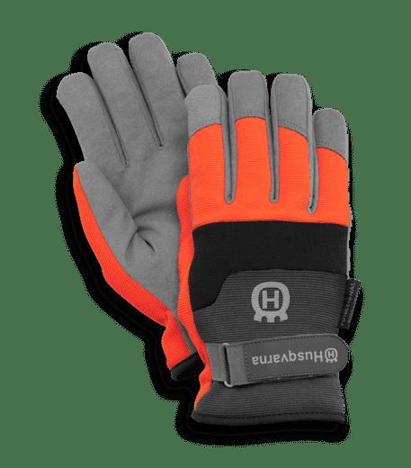 Защитные перчатки для работы с бензопилой