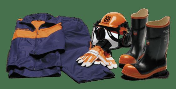 Защитная одежда для работы с пилой