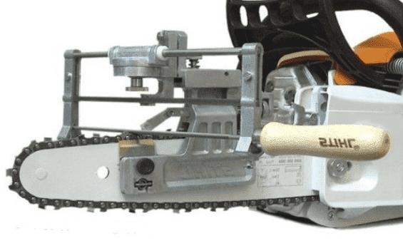 Ручной станок для заточки цепи бензопилы