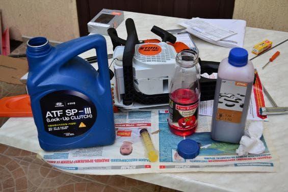 Использовать экологическое масло