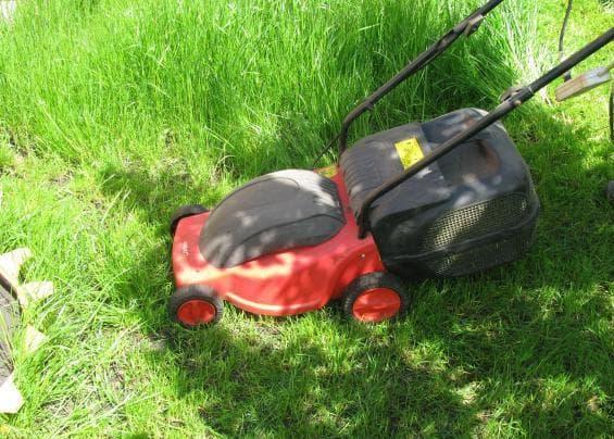 Электрокоса для высокой травы