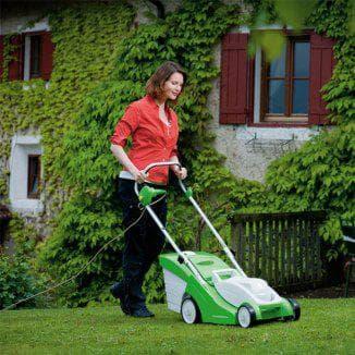 Как выбрать электрическую газонокосилку