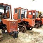 Переделанные трактора Т70