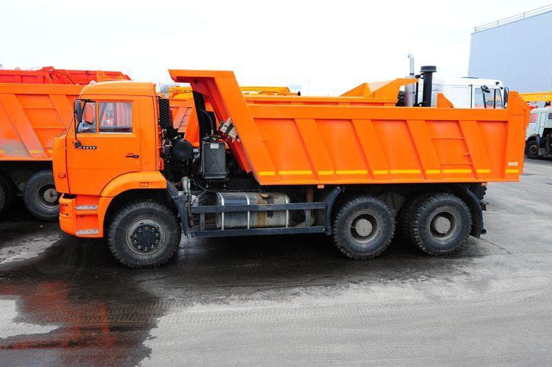 Основные характеристики грузовика