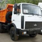 Самосвал МАЗ 20 тонн — технические характеристики
