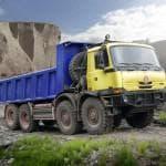 Самосвал Tatra T815 — рабочая лошадка для российского бездорожья