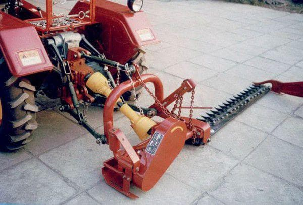 Травокосилка для трактора