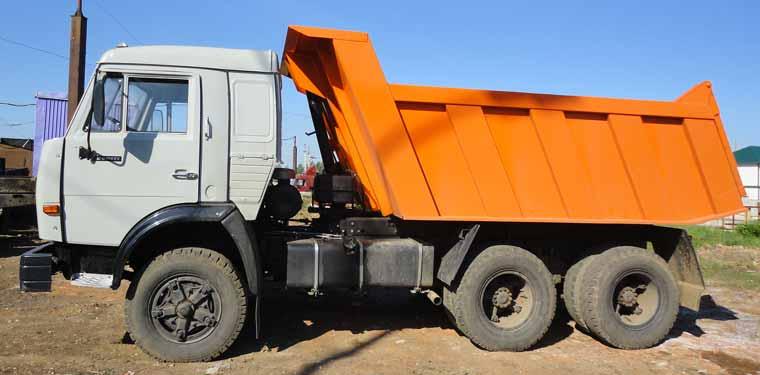Технические характеристики грузовика