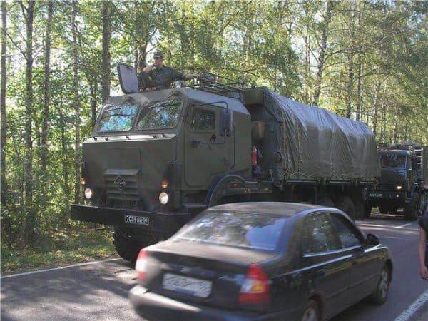 Армейский вариант КамАЗа