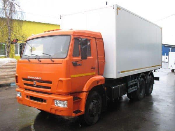 Камаз 65115 фургон