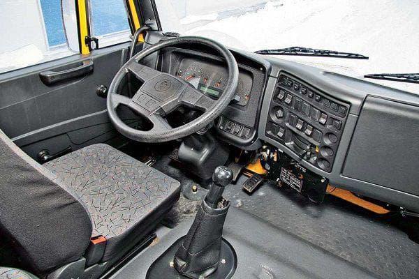 Кабина КАМАЗа 65116