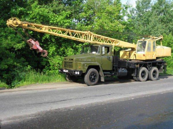 Автокран КС 4562