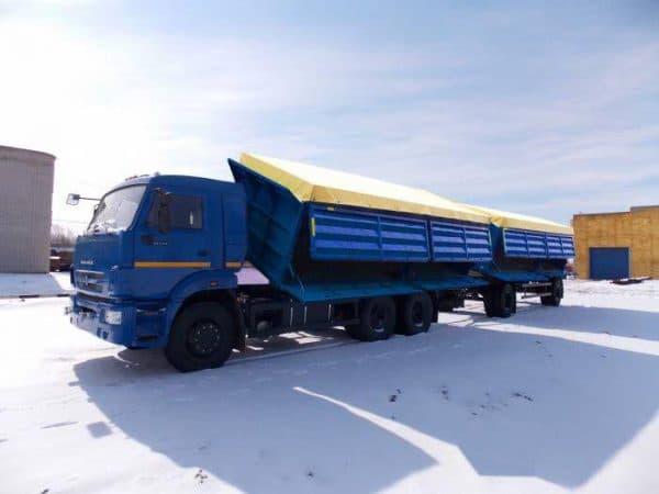 КамАЗ 65207 Зерновоз