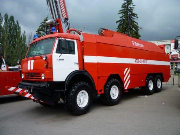 КамАЗ пожарный