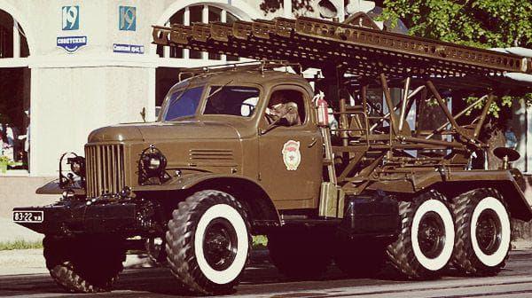 ЗИЛ 157 в армии