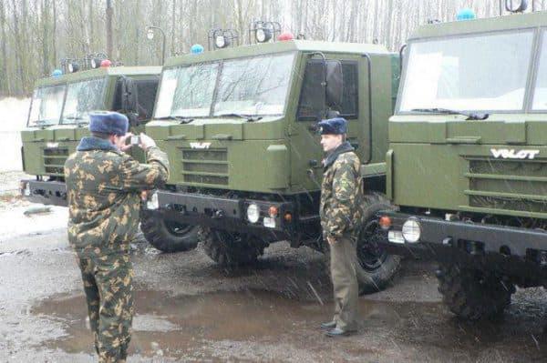 Военный транспорт МЗКТ 500200 ВОЛАНТ
