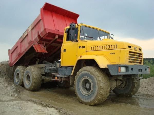 Применение КрАЗа в горнодобывающей отрасли