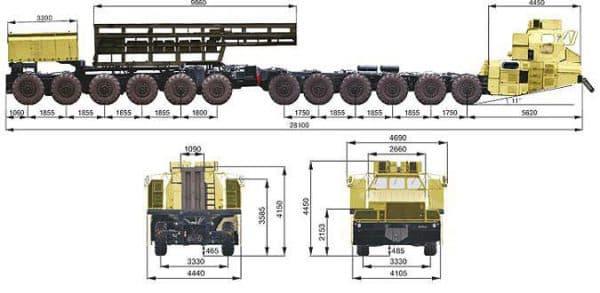 Шасси МАЗ 7907
