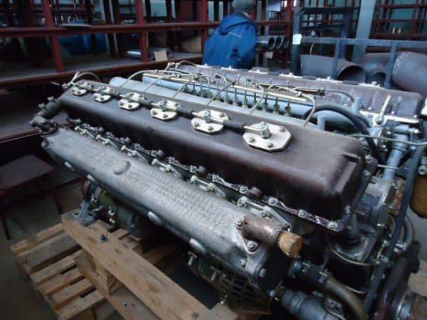 Двигатель Д-12А МАЗа 541