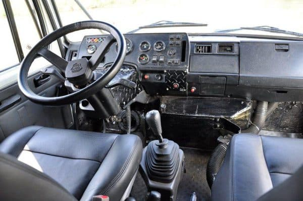 Кабина водителя