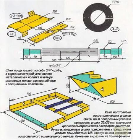Схема изготовления 2