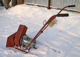 Бензиновый снегоуборщик своими руками