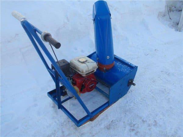 Ротор снегоуборщика