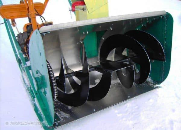Ковш снегоуборщика