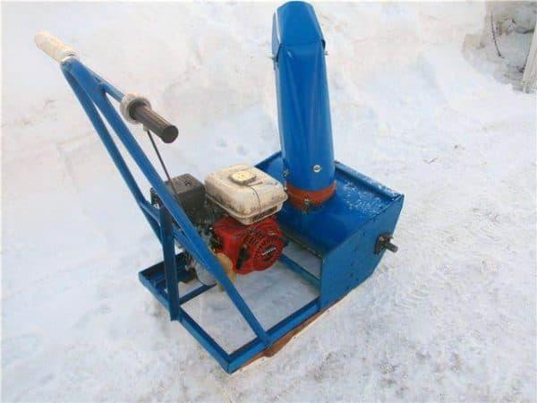 Платформа снегоуборщика