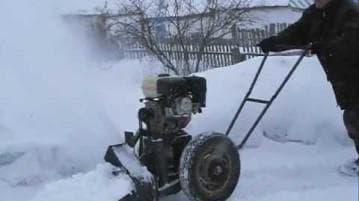 Роторный самодельный сенегоуборщик