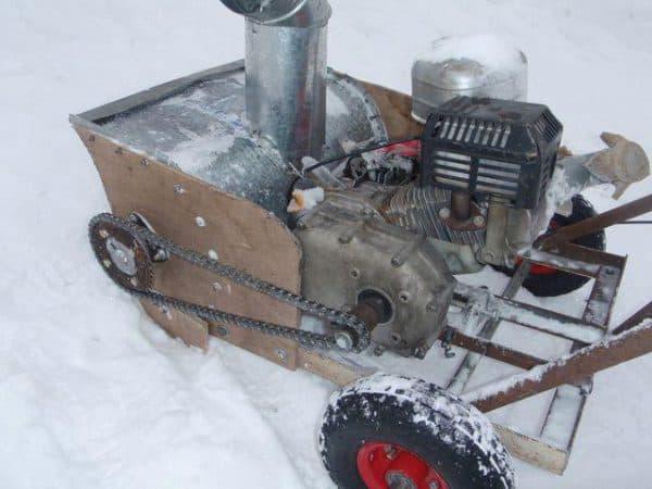 Салазки для передвижения по снегу