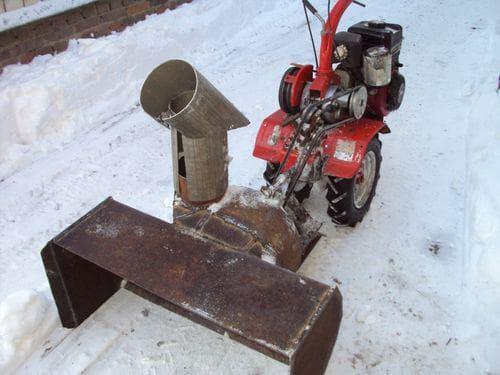 Чертежи самодельного снегоуборщика к мотоблоку