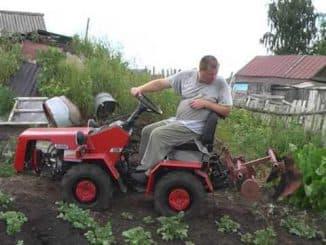 Минитрактор Беларусь 132н