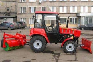 Минитрактор Белорусского производства