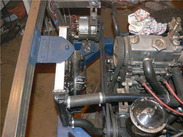Двигатель от Жигули