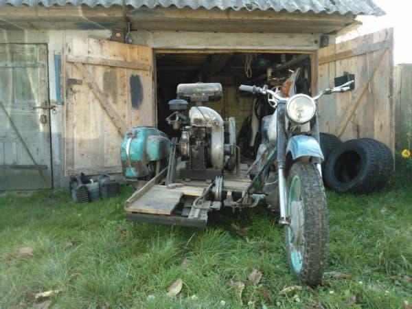 На базе мотцикла Урал