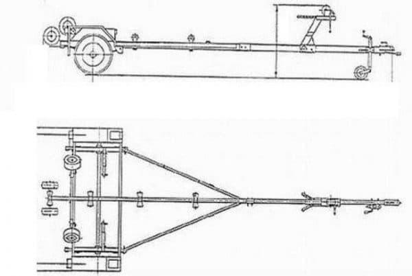 Инструкция по изготовлению прицепа