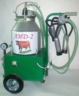 Доильный аппарат АИД-2