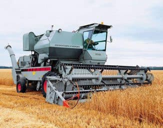 Зерноуборочный комбайн Нива эффект